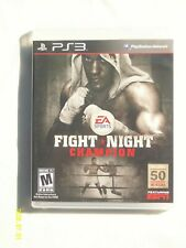 Fight Night Champion (Sony PlayStation 3, 2011) PS3 ☆MINT DISC☆
