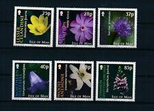 D121302 Flowers MNH Isle of Man