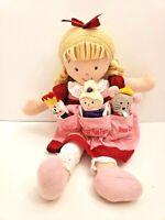 North American Bear Dolly Pockets Clara Nutcracker Doll finger Puppet plush RARE