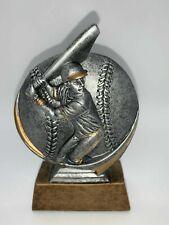 "Baseball & Batter - Sports Figurine, Statue, Trophy - 5 1/2-6"" Tall"