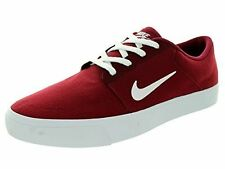 NIKE SB Portmore Red Skateboarding Sneakers Shoes 705268 Size 10