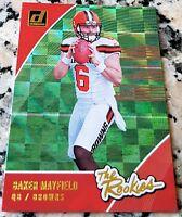 BAKER MAYFIELD 2018 Donruss #1 Draft Pick XFRACTOR Rookie Card SP RC $$ HOT $$