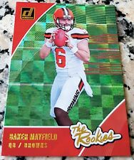 BAKER MAYFIELD 2018 Donruss  1 Draft Pick XFRACTOR Rookie Card SP RC    HOT e751a9bfd