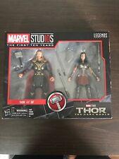 "Marvel Legends Thor & Sif Marvel Studios 10th Anniversary 6"" The Dark World Set"