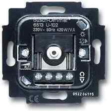 Busch-Jäger Dimmer-Einsatz 6513-U102 Drehbetätigung 40-420VA uP