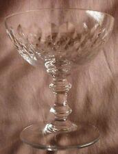 """Cristal de BACCARAT : 2 (à 8) coupes à Champagne modèle """" ARMAGNAC """" vendu par 2"""