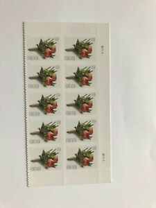 """US Postage Stamps #5199, """"Celebration Boutonniere"""" Blk of 10 stamps, FOREVER MNH"""