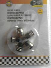 5x bouchon de valve, pneu,noir