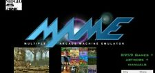 8500+ MAME games Classic collection, ARCADE SYSTEM Coin-op Retro