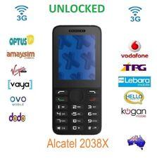 "New Unlocked Optus X Lite 2038X Big Button 2.4"" FM Bluetooth Optus/Vodafone 3G"