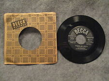 "45 RPM 7"" Record Guy Lombardo Golden Earrings & Where Or When Decca 9-27502 EXC"