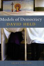 Models of Democracy by David Held (2006, Paperback, Revised)