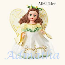 2008 Hallmark MADAME ALEXANDER #13 Doll Ornament FOLLOW DREAMS ANGEL *Priority