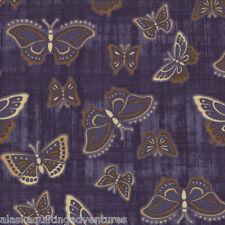 MODA Fabric ~ ENCHANTED POND ~ Holly Taylor (6505 15) Purple - by 1/2 yard