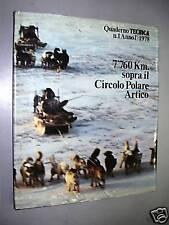 POLARE ARTICO  Libro - 7.760 Km sopra il Circolo Polare Artico