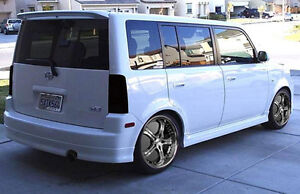 Fits 04-06 Scion XB Wagon GTS Acrylic Smoke Taillight Covers 2pc Set NEW GT4173