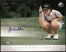 Juli Inkster signed Upper Deck Signature Shots 8x10