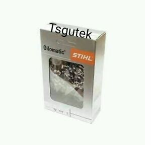 GENUINE STIHL chainsaw CHAIN 3/8 P 1.1mm 1.3mm 1.6mm .325mm select from BOXES
