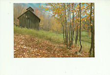 CABANE A SUCRE, ST. ANDRE AVELLIN, QUEBEC, CANADA POSTCARD