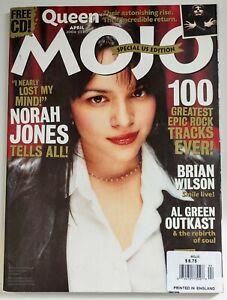 Mojo Magazine April 2004 Queen, Al Green Outkast Norah Jones Brian Wilson Sparks