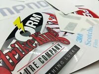 Fishing Decals wholesale  lot of (12) stickers,best selling stickers