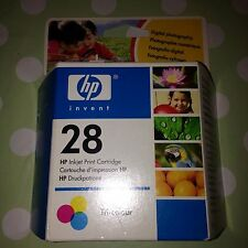 ORIGINAL HP Tri Colour 28 Inkjet Print Cartridge Printer Deskjet Officejet Etc