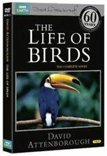 David Attenborough's The Life of Birds but Unsealed 3-dvd Set Reg 2 4