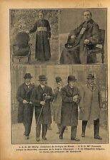 Teodor Ivanov Teodorov President Bulgaria Bulgarie à Paris 1919 ILLUSTRATION