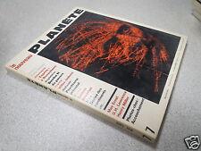 REVUE MAGAZINE le nouveau PLANETE N° 7 mai 1969 *