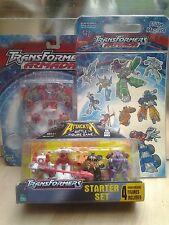 Transformers Figuras Attacktix, Pinball, Imanes Conjunto Sin abrir Empaque Original