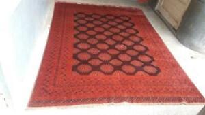 COLLECTORS' PIECE Antique Qizil Ayak Sarouq Pattern Natural Vegetable Dye Carpet