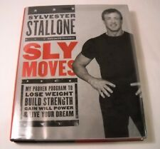 Sylvester Stallone SIGNED Book - Sly Moves - 1st / 1st - Compare at $400 (B246)
