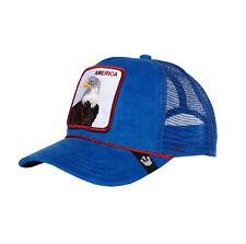 Goorin Bros Gorra Mesh Cap America Azul Real Águila Camionero Sombrero 101-2708 para