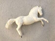 Vintage Breyer Horse #30 King Matte Alabaster Lipizzan Fighting Stallion White!!