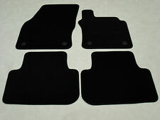 VW Golf Mk7 2013-20 Fully Tailored Deluxe Car Mats in Black