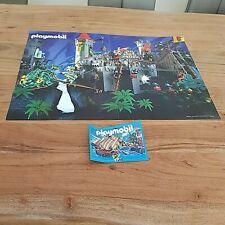 playmobil poster klicky selten rar 3666 ritterburg