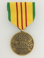 United States American Vietnam Service Medal. Full size Genuine issue.