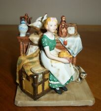 Norman Rockwell Dreams In Antique Shop Figurine