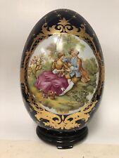 Limoges Style Porcelian Egg Home Decoration