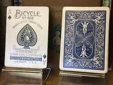 New ListingAntique Bicycle 808 Rider back Playing Cards Us8b 52/52 Vintage late 1890s