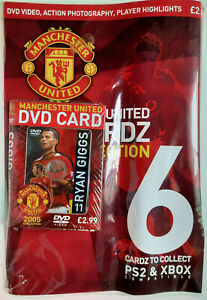 Manchester United DVD CARDZ 2005 Collection  ~11 RYAN GIGGS  ~ (Sealed unopened)