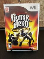 Guitar Hero World Tour (Nintendo Wii, 2008) Complete Game ONLY