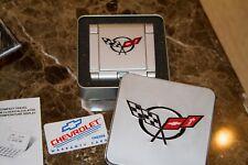Chevrolet CORVETTE Official Licensed Compact Travel Alarm Clock/Calendar Temp