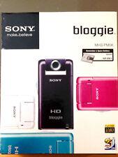 Sony bloggie MHS-PM5K *Violet* NEW SEALED* Mobile HD Snap 5MP Camera