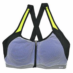 Victorias Secret Knockout Sport Front Close Underwire Support Yoga Sports Bra