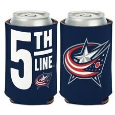 COLUMBUS BLUE JACKETS 5TH LINE KADDY KOOZIE CAN HOLDER BRAND NEW WINCRAFT