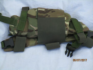 Animal 2 Pelvic Protection, Splinter Mtp, Multicam, Rear Panel Medium, Used