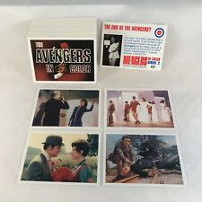 THE AVENGERS IN COLOR (SERIES 2) by CORNERSTONE 1993 Complete Card Set (#82-180)