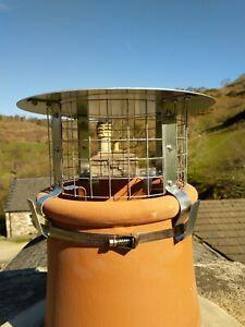 Four Strap Galvanised Steel Chimney Cowl *FREE POSTAGE*