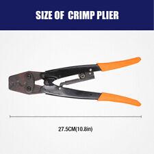 Wire Crimper Cable Crimping Plier Terminal Anderson Plug Crimp Tool 125 16mm2